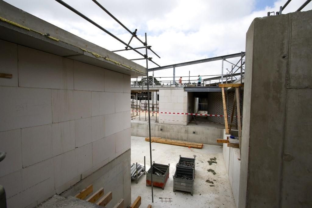 De Spa Wellness aan de rand van Breda in aanbouw. Foto: Wijnand Nijs © BredaVandaag