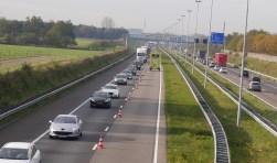 Werk A58: In weekend omrijden richting Tilburg en Eindhoven.
