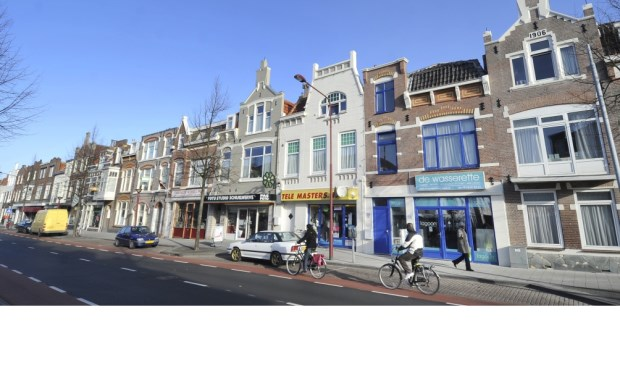 De Scheldestraat in Vlissingen.