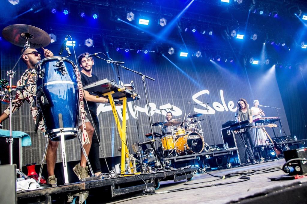 Alvaro Soler tijdens Breda Live 2018. Foto: Vinnie de Laat / Click United © BredaVandaag