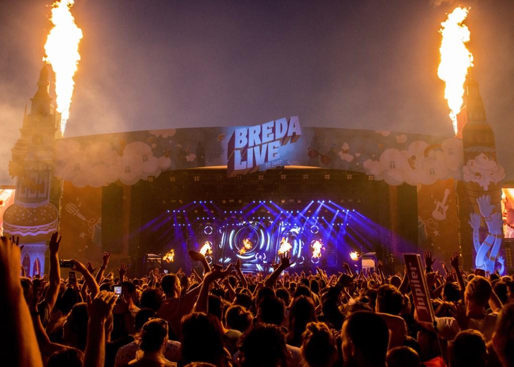 Hardwell tijdens Breda Live 2018. Foto: Vinnie de Laat / Click United © BredaVandaag
