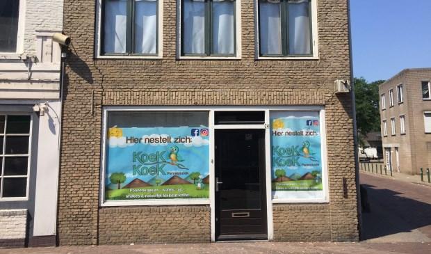 Pand aan Haagdijk waarin Koekoekpannenkoek zich vanaf half september gaat vestigen.
