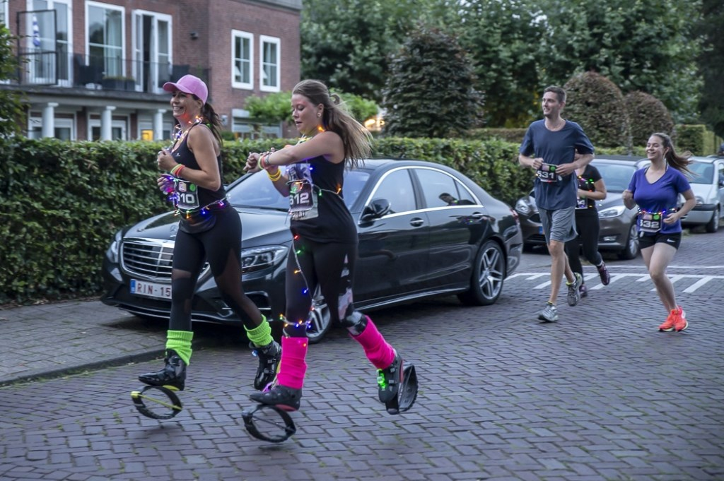 De derde editie van de LED-run LEDS Go! in het Ginneken. Foto: Stadsfotograaf Breda © BredaVandaag