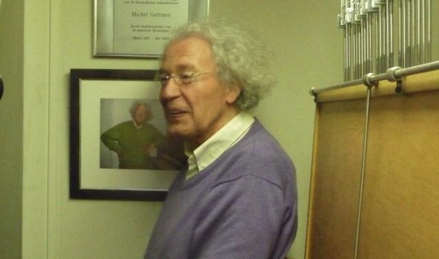Michel Gottmer in speelcabine Sint Jan
