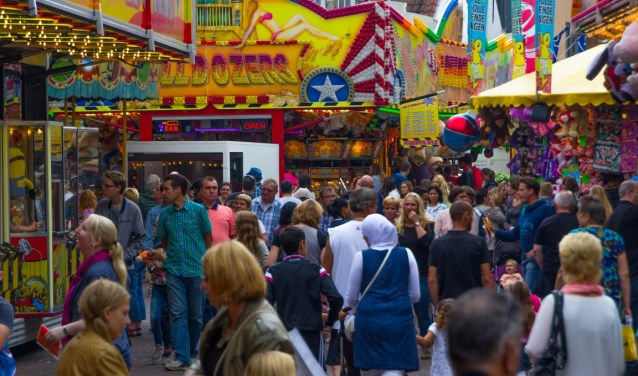 De kermis in Roosendaal trekt ongeveer 230.000 bezoekers. ARCHIEFFOTO