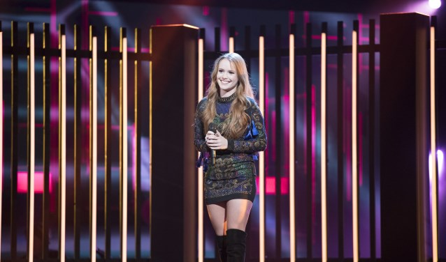 Isabel Provoost, finaliste van The Voice of Holland 2017.
