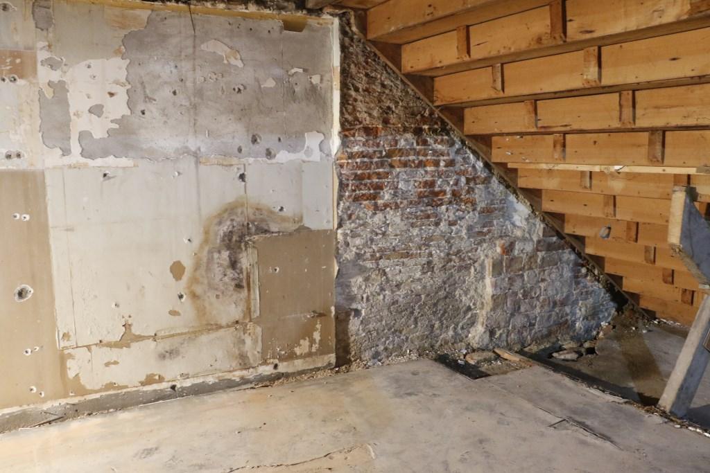 Een van de oudste muren van Breda. Foto: Mura Kuijpers © BredaVandaag