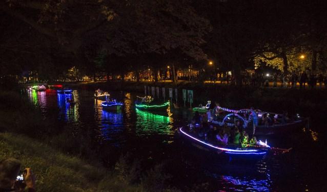 Lichtsloepenparade 2016