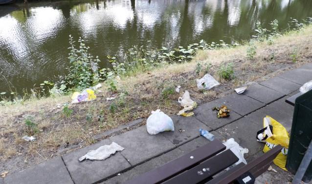 Tijdens de World Cleaning Day gaan de deelnemers zwerfafval opruimen