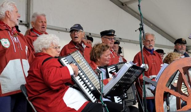Het was zingen geblazen in Zoutelande. Foto: Annet Eekman © Internetbode