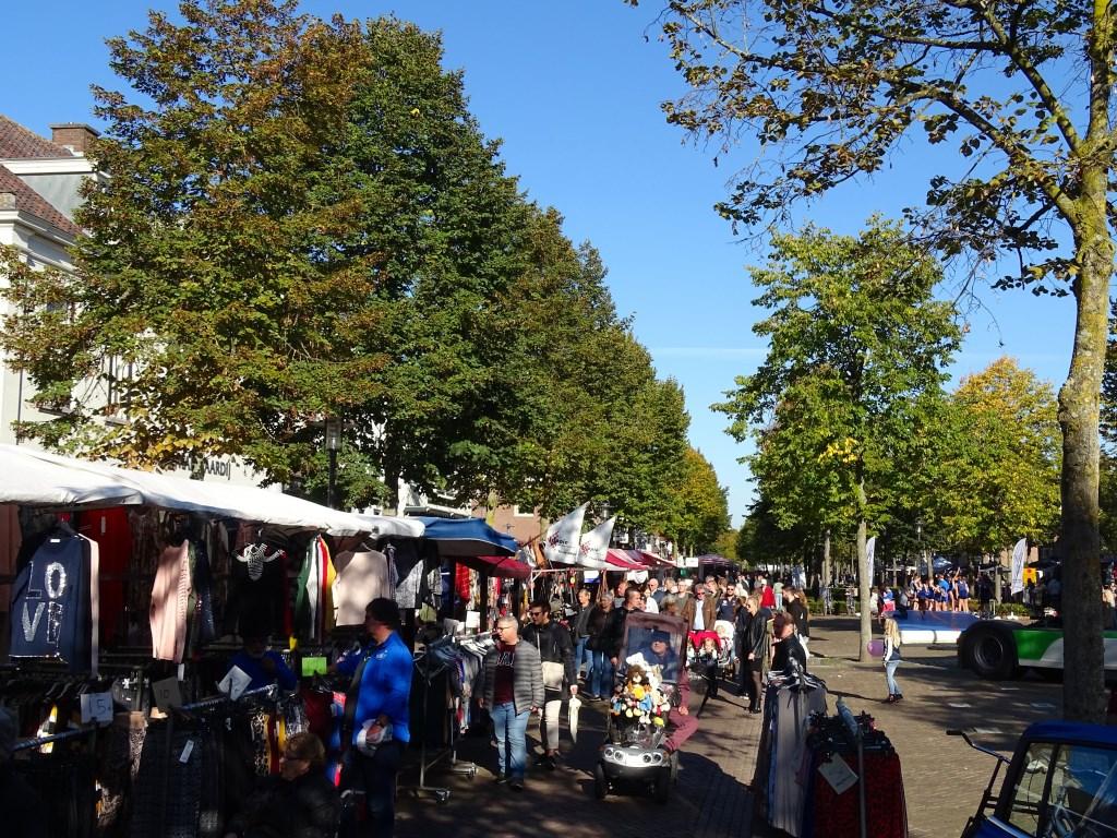 Er waren vele activiteiten tijdens de jaarmarkt.