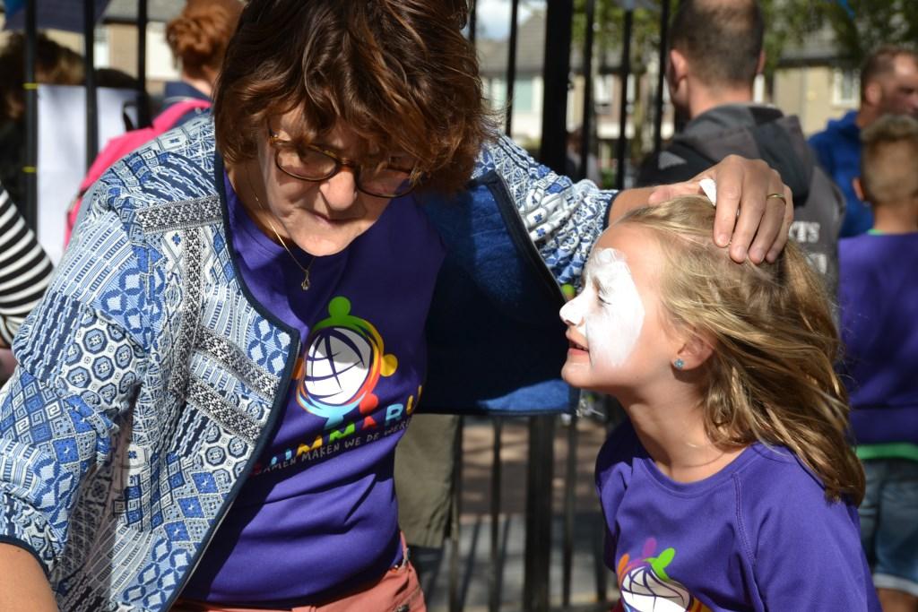 Voor kinderen was er tijdens het buurtfeest van alles te doen Foto: Remko Vermunt © Internetbode