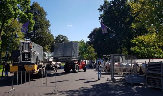 De opbouw van Breda Barst is in volle gang