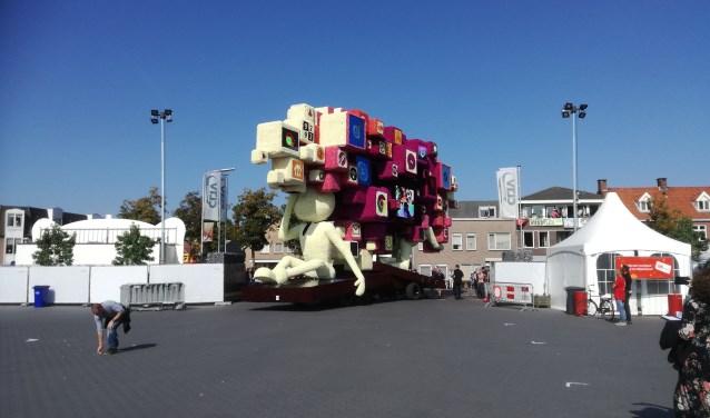 De wagens. Foto: Charles van Campenhout © Internetbode