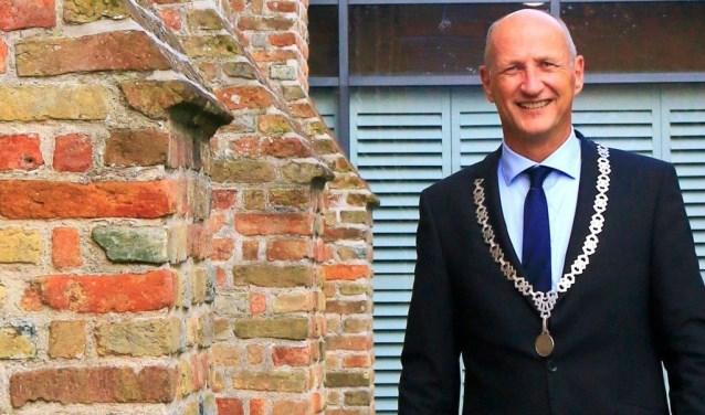 Burgemeester Rob van der Zwaag van de gemeente Veere.