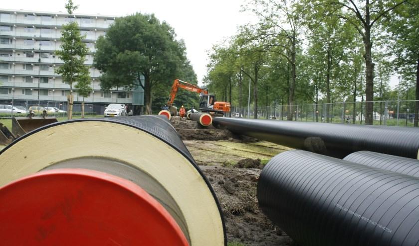 PvdA en D66 zien in waterstof een mogelijke vervanger van aardgas voor de wijken die niet op stadsverwarming zijn aangesloten.