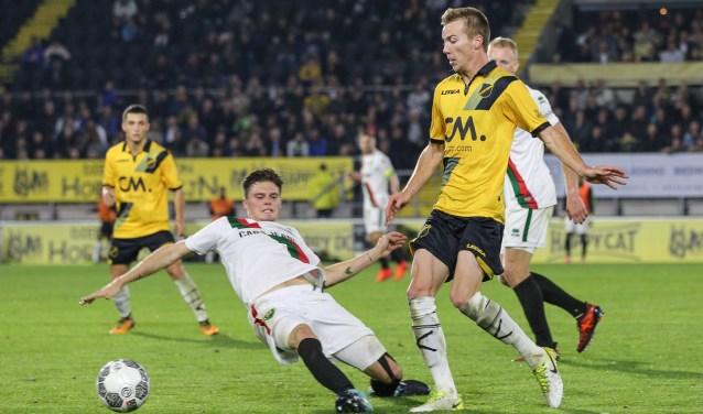NAC-ADO Den Haag in 2017 eindigde in 0-1.