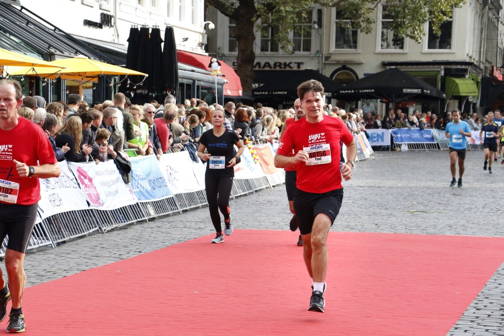 Burgemeester Paul Depla loopt de halve marathon.
