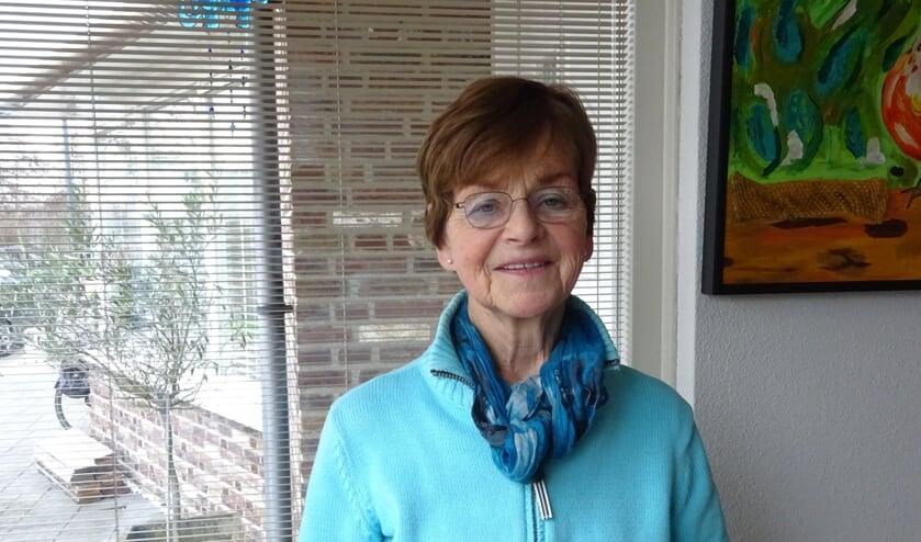 Ans van Trier wil graag zo lang haar gezondheid dat toelaat gastvrouw blijven in het ziekenhuis.