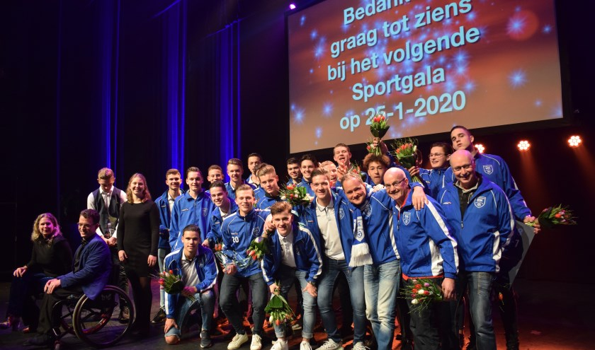 Sportploeg DSE met alle winnaars