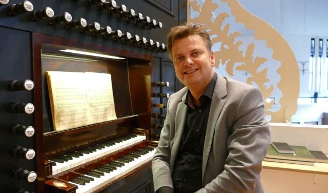 Organist P. Wildeman. FOTO R. SCHRIER