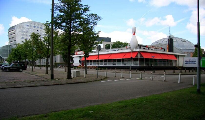 De bowlingbaan aan het Chasséveld.