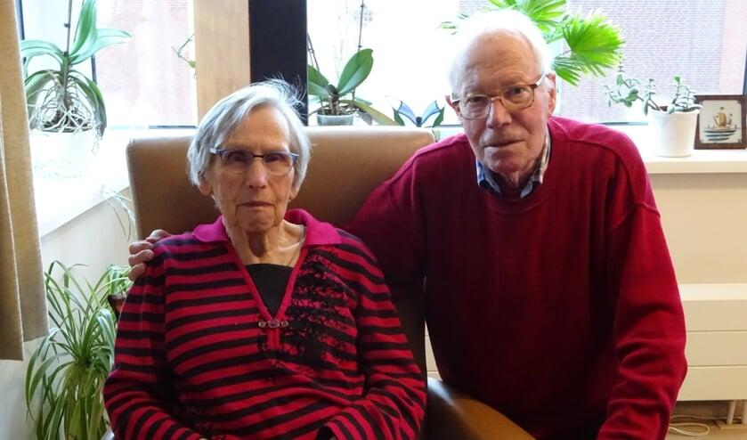 Bep en Henk Mandemaker zijn 'hoogst tevreden' over hun leven.