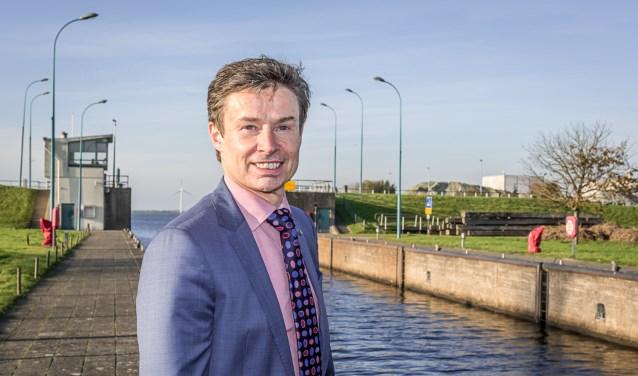 Waarnemend burgemeester Huub Hieltjes van de gemeente Kapelle.