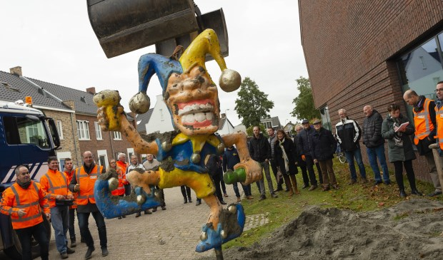 Herinrichting centrum Rucphen carnavalesk van start 2 11/11 - Internetbode