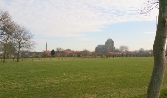 De Grote Kerk is een beeldbepalend gebouw in Veere.