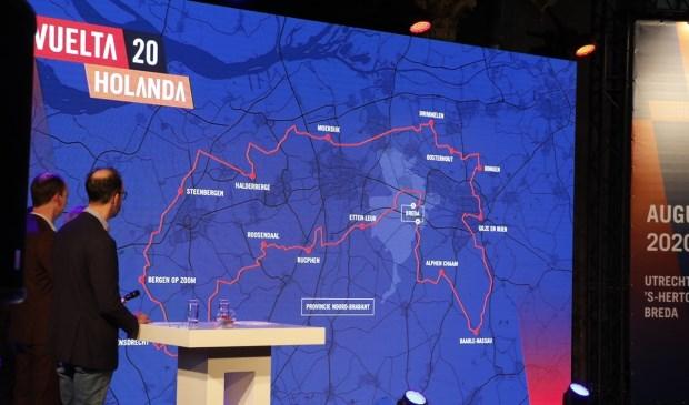 Derde etappe Vuelta 2020