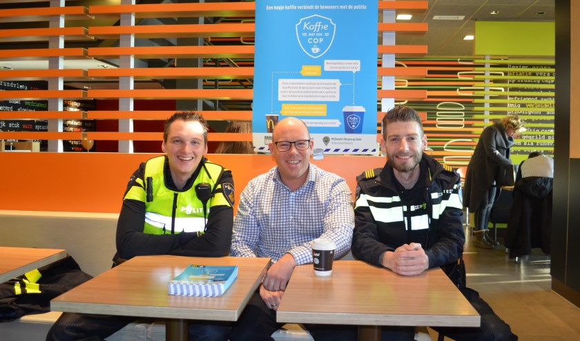 Coffee with a Cop is in Bergen op Zoom wel van start gegaan