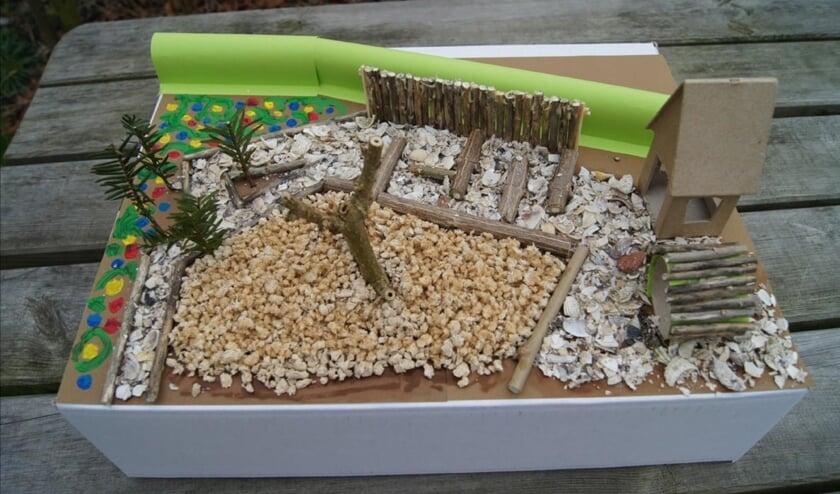 Een voedselplek maakt het schoolplein groener.