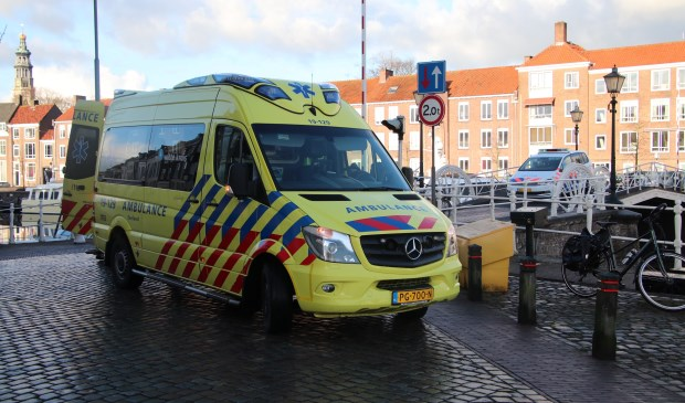 Persoon zwaargewond na val van fiets Mortiereboulevard