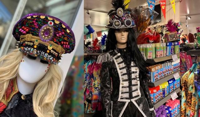 Bij Poppelaars kan iedereen slagen voor een originele carnavalsoutfit.