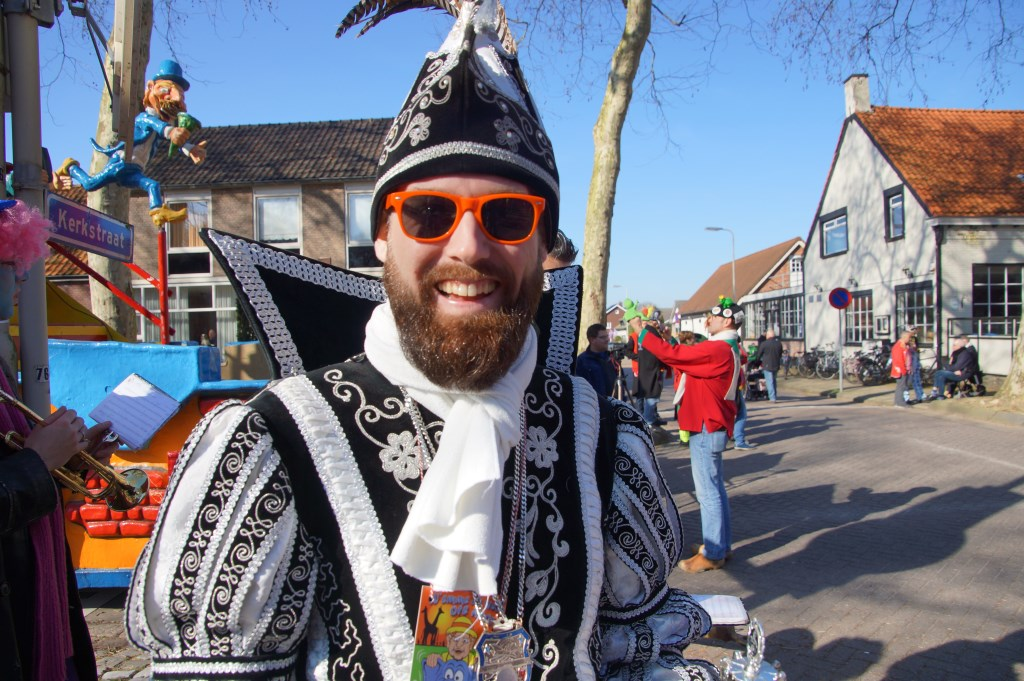 Het was alvast carnaval in Wouwse Plantage.