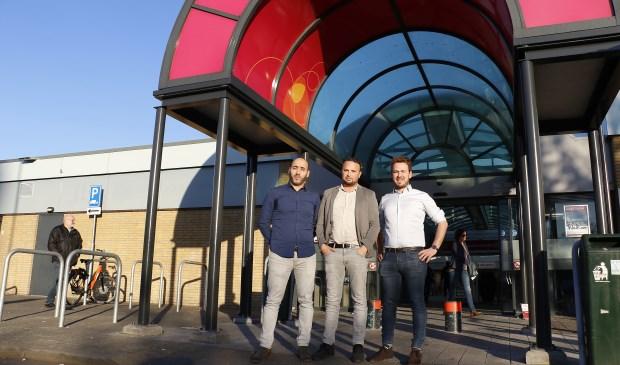 Younes Nahnahi, Faissal Boulakjar en Arjen van Drunen bedachten samen een plan voor de Hoge Vucht.