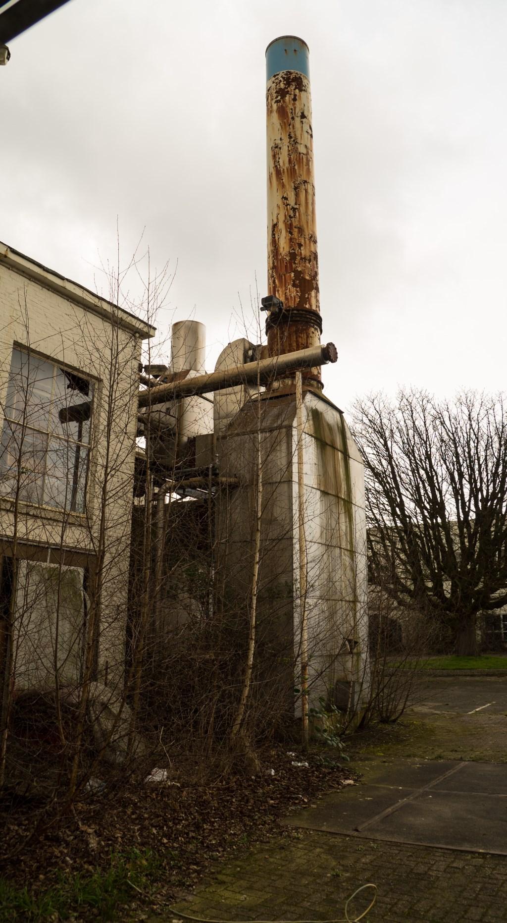 De Nibb-it ligt er verlaten bij, februari 2019. Foto: Martijn Rondel © BredaVandaag