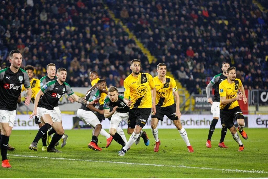 NAC heeft met 0-0 gelijkgespeeld tegen FC Groningen. Foto: Peter Visser © BredaVandaag