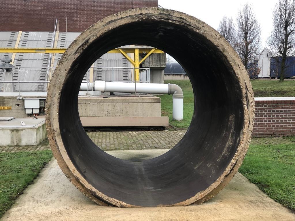 Dit is een voorbeeld van een rioolbuis. Foto: Robbert Temmen © BredaVandaag