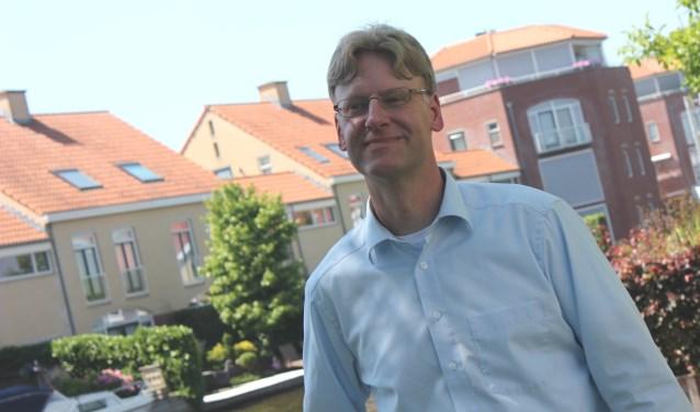 Toenmalig wethouder Vincent van den Bosch in 2015.