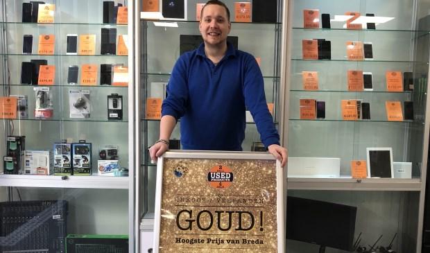 In de nieuwe winkel aan de Nieuwstraat ligt de volle focus nu ook op de inkoop en het belenen van goud.