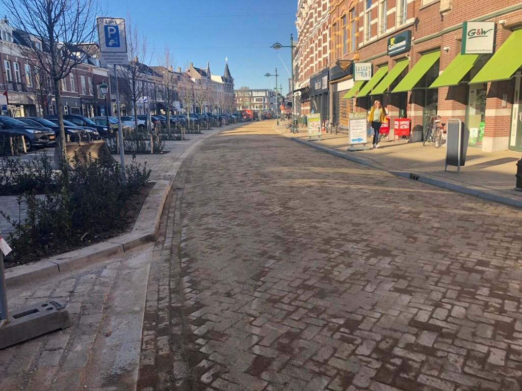 De Wilhelminastraat in Breda.