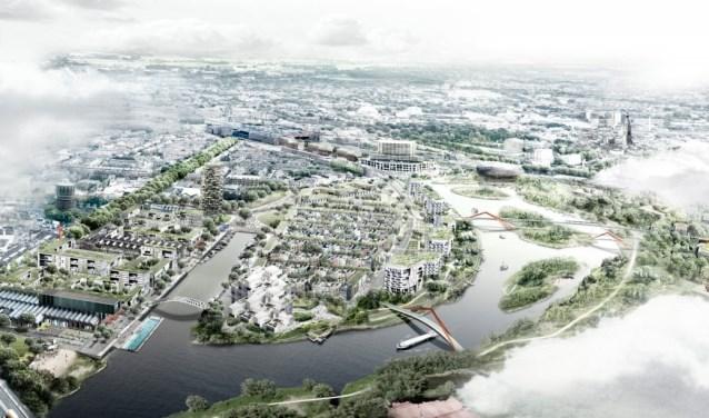 De beoogde nieuwbouwplannen rondom het Haveneiland en Havenkwartier