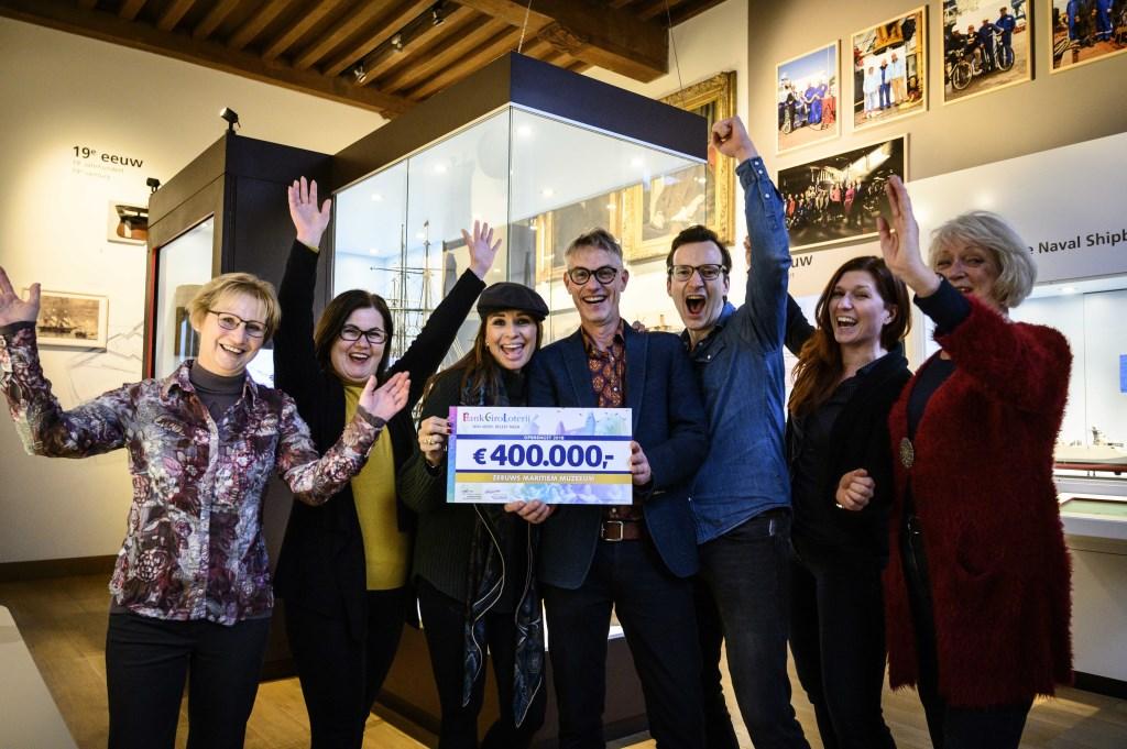 Muzeeum krijgt vier ton van Bank Giro Loterij. Foto: Jurgen Jacob Lodder © Internetbode