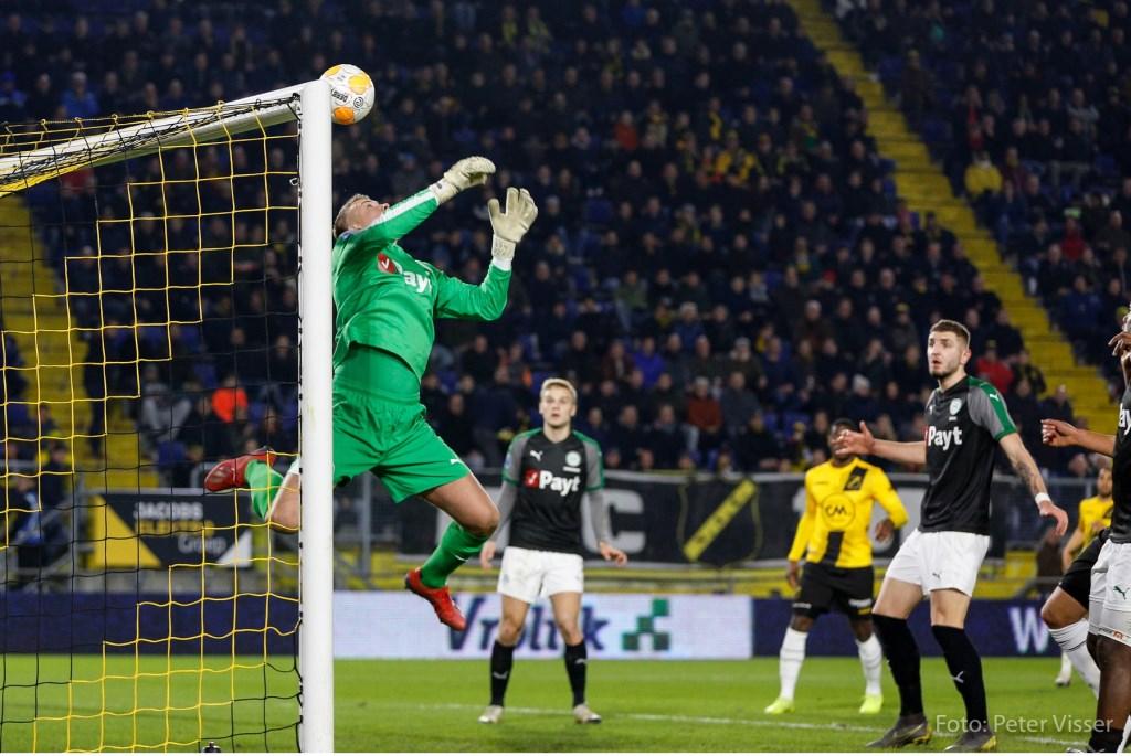 NAC heeft met 0-0 gelijkgespeeld tegen FC Groningen.