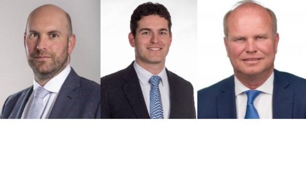 Boaz Adank (VVD), Caspar Rutten en Tom Berendsen (CDA).
