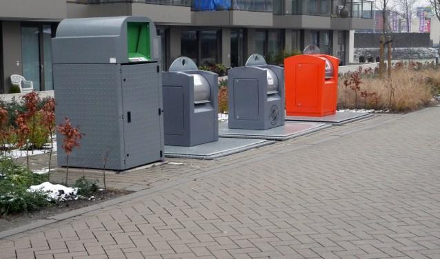 Ondergrondse afvalcontainers in Breda