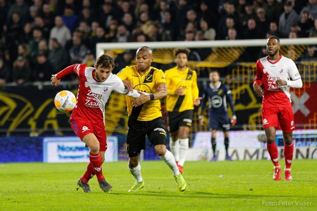 NAC verliest kansloos van FC Utrecht.