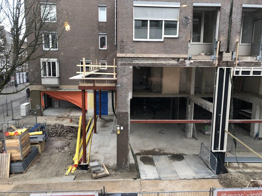 De verbouwing is in volle gang.  © BredaVandaag